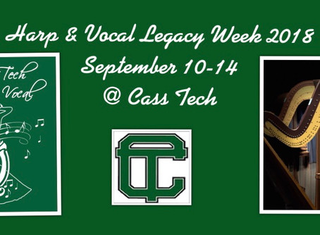 Harp & Vocal Legacy week