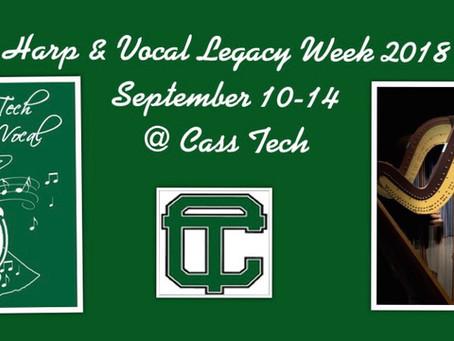 Harp & Vocal Legacy week
