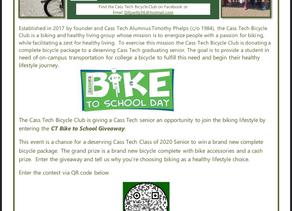 Class of 2020 Bike Giveaway