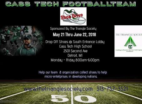 Cass Tech Football TeamShoe Drive