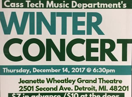 Cass Tech Winter Concert Has Been Postponed