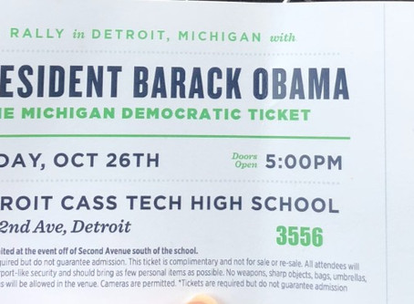 The Hot Ticket! - President Obama Visits Cass Tech!!