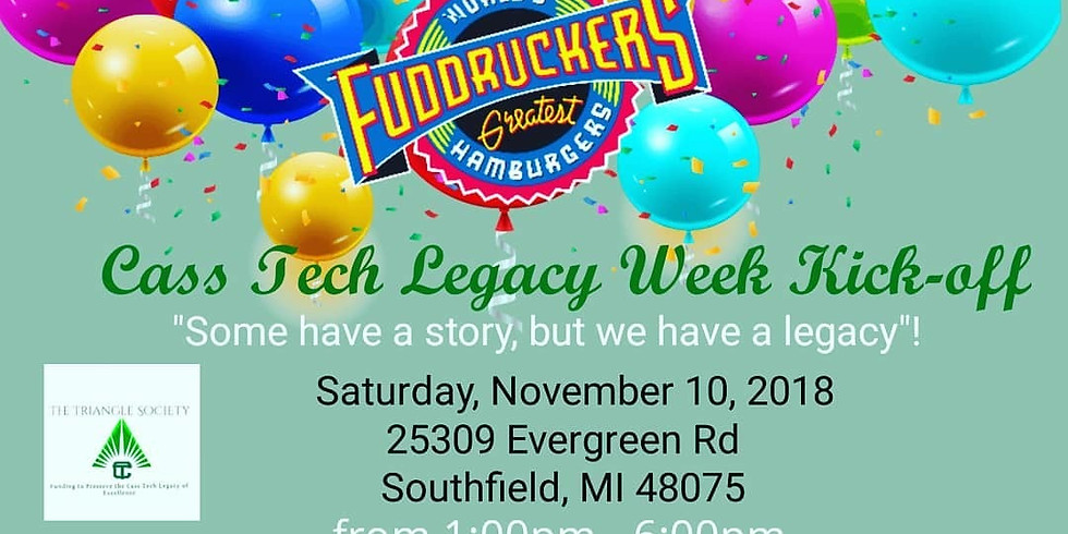 Cass Tech Legacy Week Kickoff - Dine Out for a Great Cause with The Triangle Society