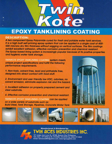 Epoxy Tanklining Coating