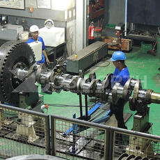 7 - MW Steam Turbine Rotor
