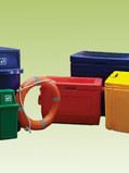 Heavy Duty Trash Bins and Coolers