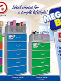 Zooey Megabox Drawer with Tray