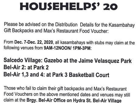 Handog Saya For Househelps' 20