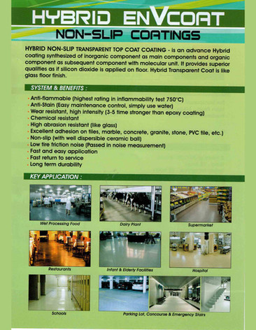 Non;Slip Coatings