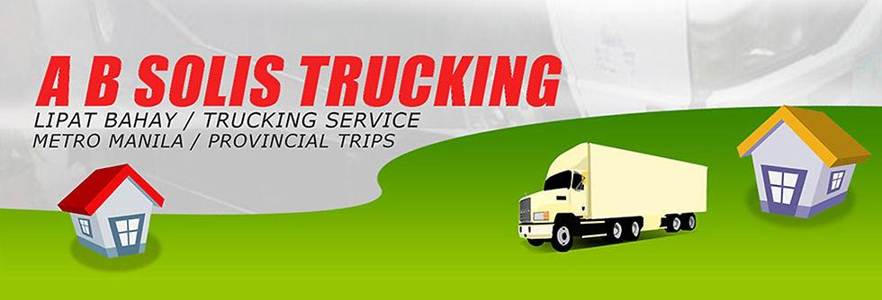 Lipat Bahay Services - A.B. Solis Trucking