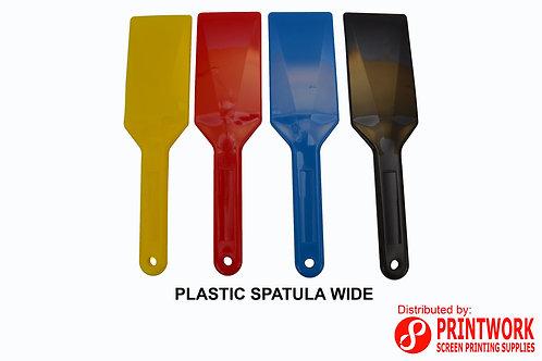 Plastic Spatula Wide