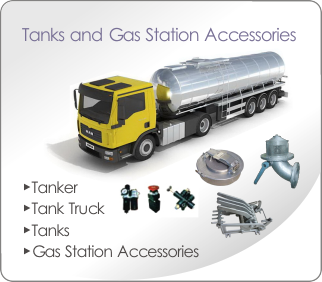 Tanks and Gas Station Accessories