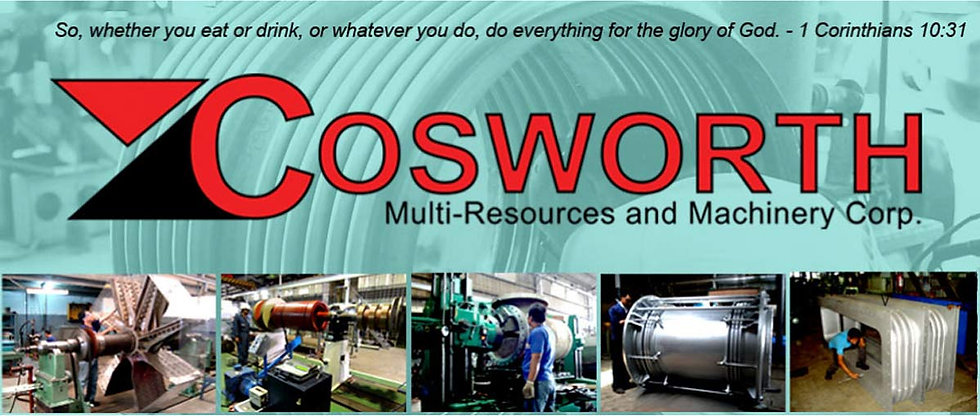 Machine Shop Services in Las Pinas - Cosworth Multi-Resources and Machinery Corp.