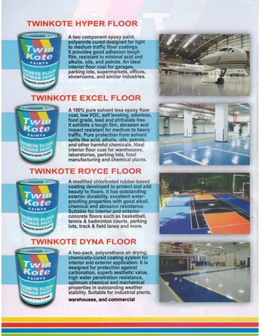 Concrete Floor Coating Paint