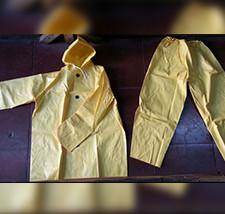 Raincoat in Manila