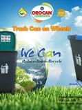 Orocan Trash Bin