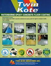 Waterborne Epoxy Concrete Floor Coating