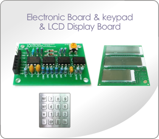 Electronic Board & Keypad & LCD Display Board