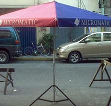 Big Umbrella in Manila