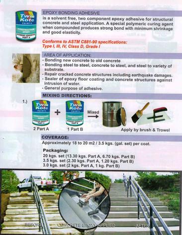 Cosntruction Epoxy Adhesives