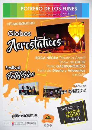 Lanzamiento Temporada Turística en #Potreroencanta - Sábado 16