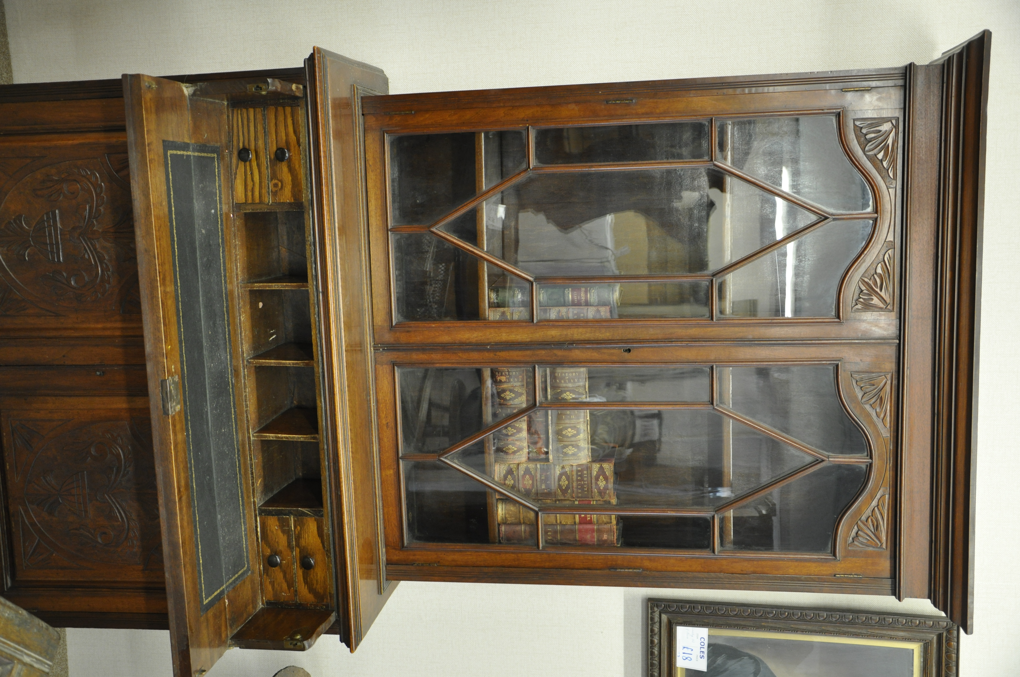 Secretaire Bookcase