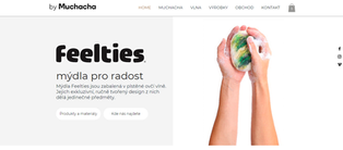 E-shop designových mýdel byMuchacha
