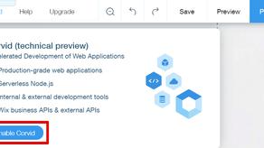 Wix Corvid - nástroj pro tvorbu webových stránek bez limitů