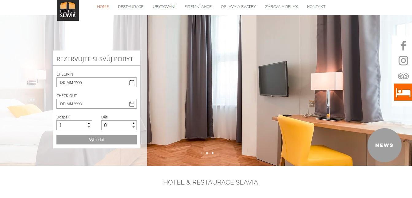 HOTEL & RESTAURACE SLAVIA