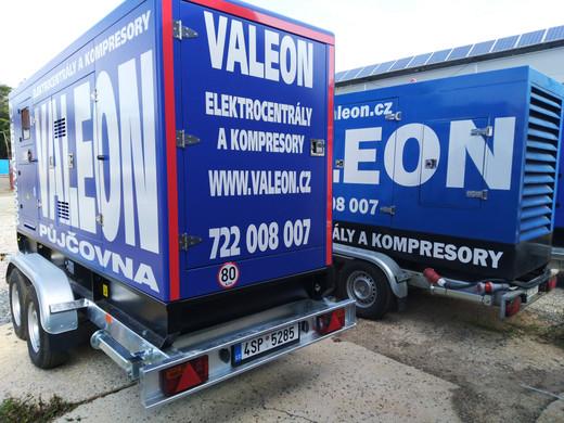 Půjčovna elektrocentrál Valeon