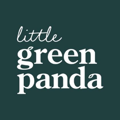 Little Green Panda Straws