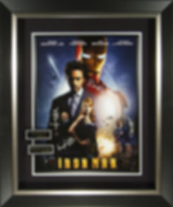 M34863_IronMan_Cast_Signed_18x24_Display