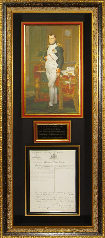 M34840_Napoleon_Bonaparte_Signed_Militar