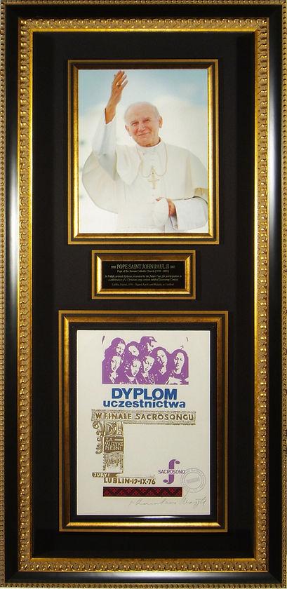 M34844_Pope_John_Paul_II_Autographed_Dis