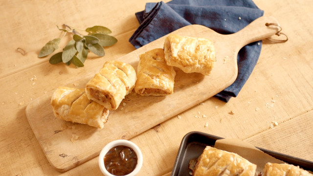 National Trust // How to Make Sausage Rolls