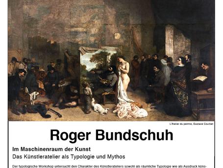 Presentation and workshop with Roger Bundschuh.