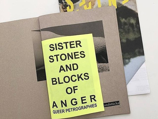 Sister Stones and Blocks of Anger Zine, Workshop with Emma Haugh.