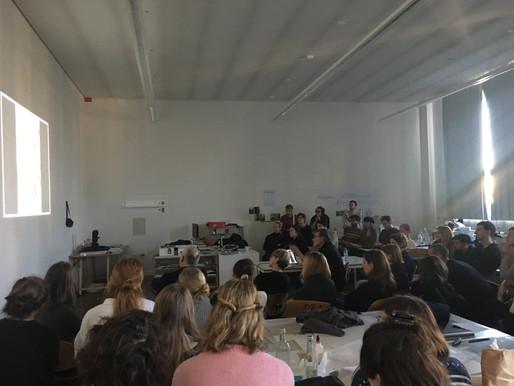 Talk with: Philippe Vassal & workshop with Roger Bundschuh
