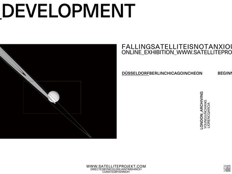 Sateliteprojekt, 01 Beginning - Exhibition Invite