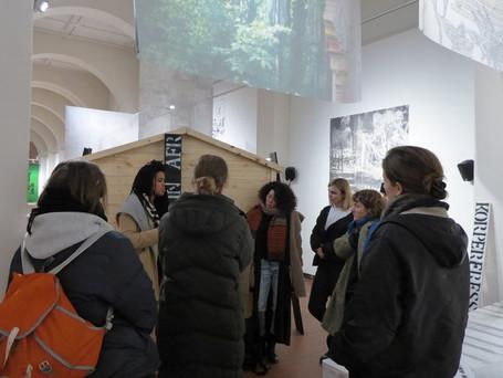Galerie im Körnerpark: Treffen mit Nathalie Anguezomo Mba Bikoro & Anaïs Héraud-Louisadat