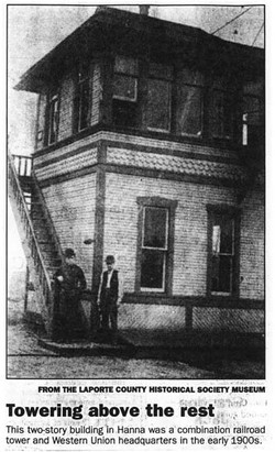 Hanna RR Tower and Western Union Headquarters early 1900s.jpg