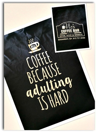 """Adulting"" T-Shirt (Black)"