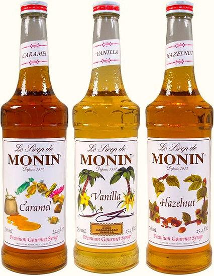 Monin Syrup (10 Flavors!!!)