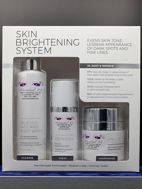 Skin Brightening System Combo