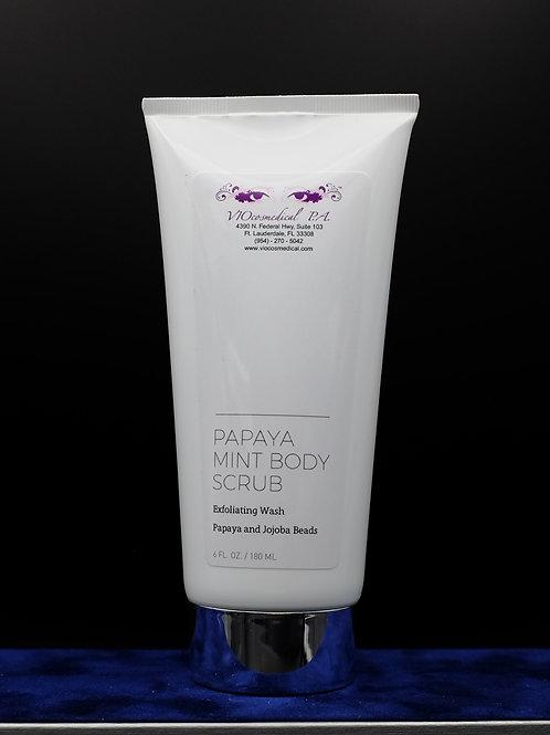 Papaya Mint Face & Body Polish