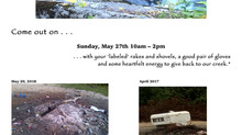 2018 Gravel Pit Clean-up Day May 27th