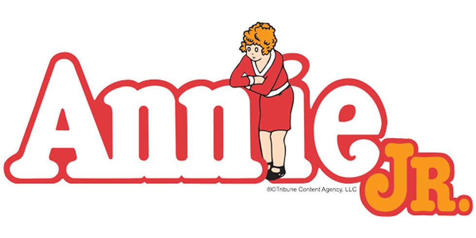Annie Jr. Closing Show