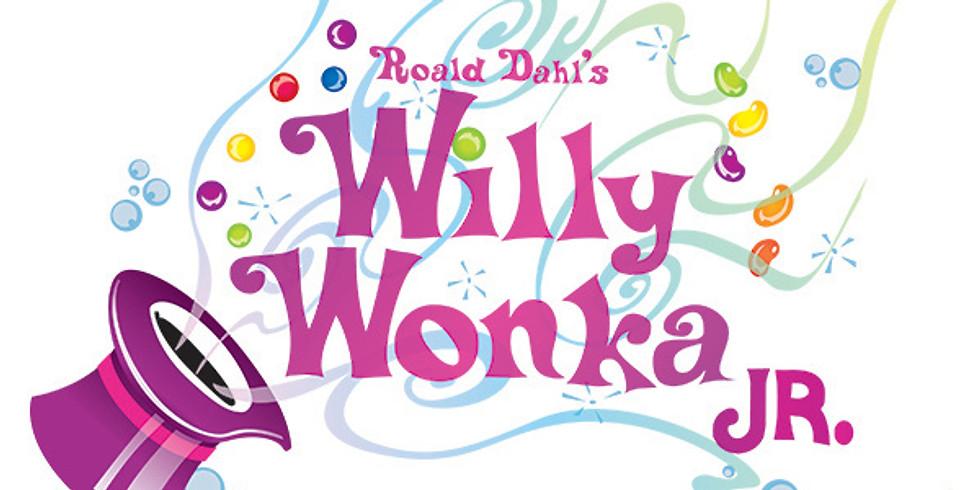 Willy Wonka Jr Tickets Sunday 5:30 PM November 4th