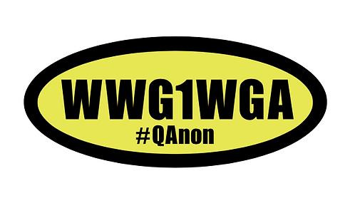 WWG1WGA ステッカー