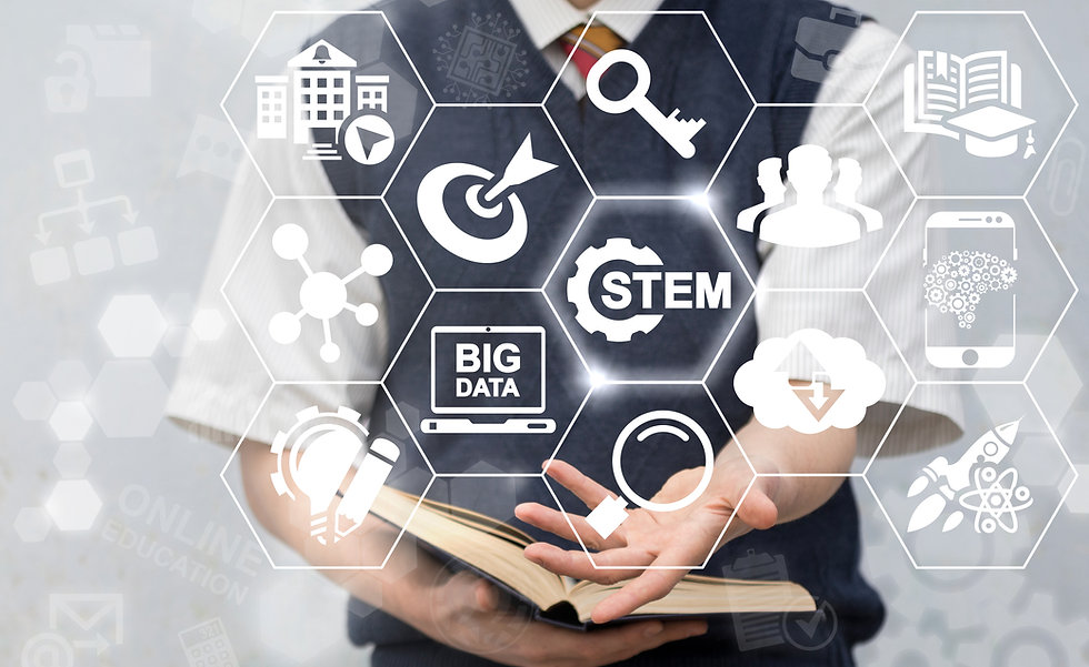 STEM Education Concept. Science Technolo